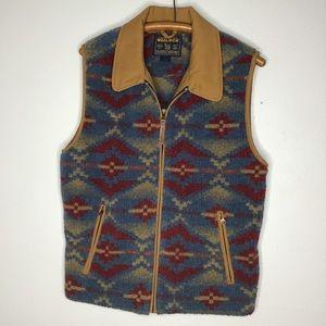 Woolrich Women's Southwestern Fleece Vest …